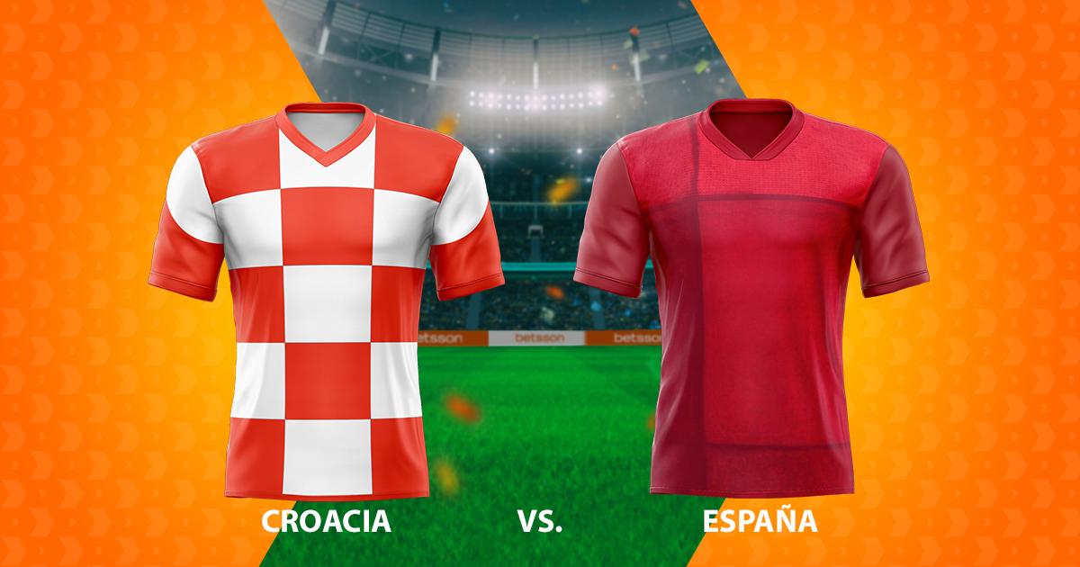 Croacia – España: pronósticos de los octavos de final