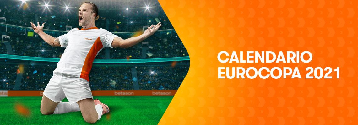 Calendario completo de la  Eurocopa 2021