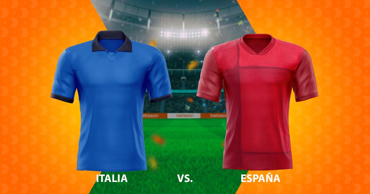 Italia – España: pronósticos de los semifinales
