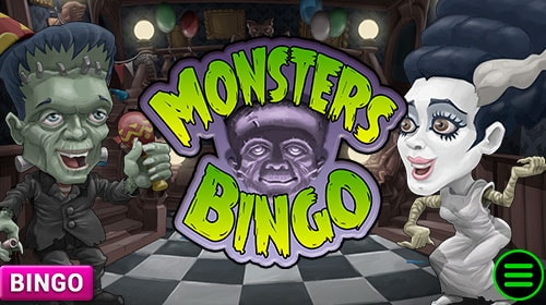Monsters Bingo